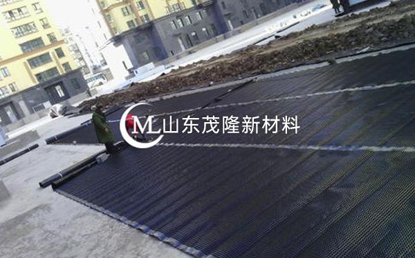 《兴泉项目》塑料排水板施工