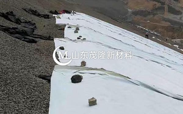 《银西项目》排水板、复合土工膜施工