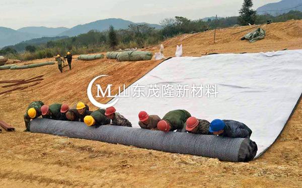 膨润土防水毯产品演示图2