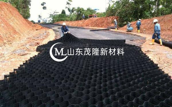 《京雄高速》土工格室施工