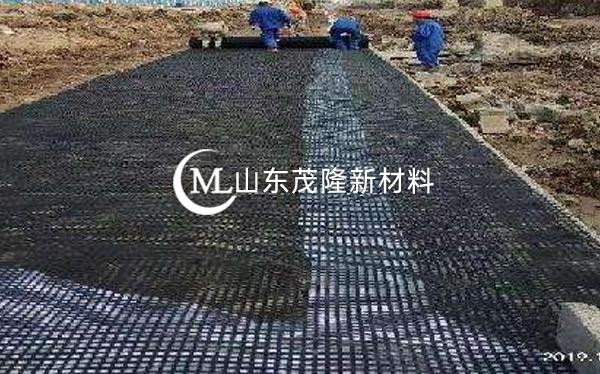 《宁安高铁》土工布、经编土工格栅施工