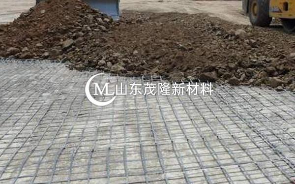 《济青高速改扩建5标》土工格栅施工