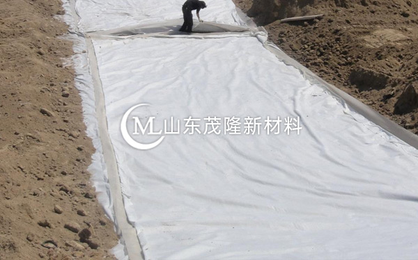 《大广高速》复合土工布施工