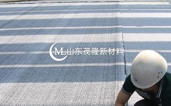 《郓城圣元环保垃圾发电厂》防水毯施工