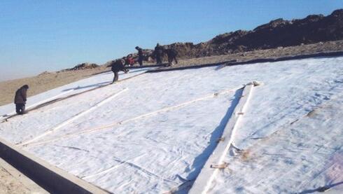 三维复合排水网填埋场施工流程